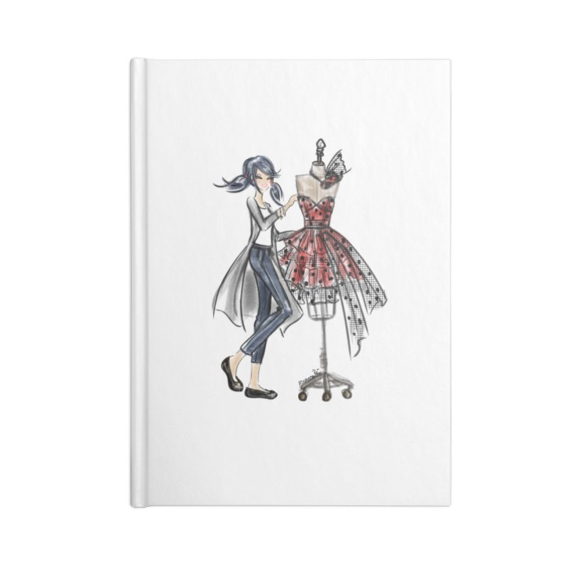 Ladybug Fashion Accessories Blank Journal Notebook by Deanna Kei's Artist Shop