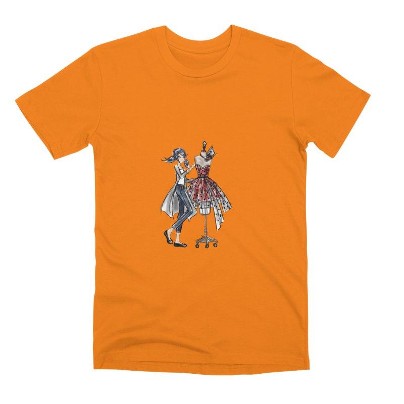Ladybug Fashion Men's T-Shirt by Deanna Kei's Artist Shop