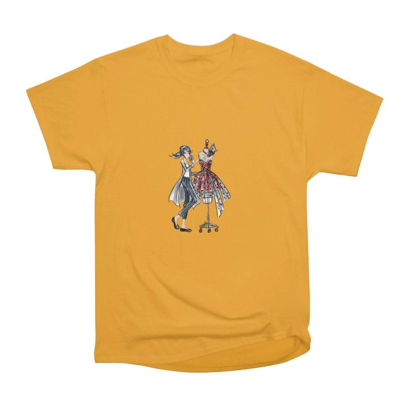 Ladybug Fashion Men's Heavyweight T-Shirt by Deanna Kei's Artist Shop