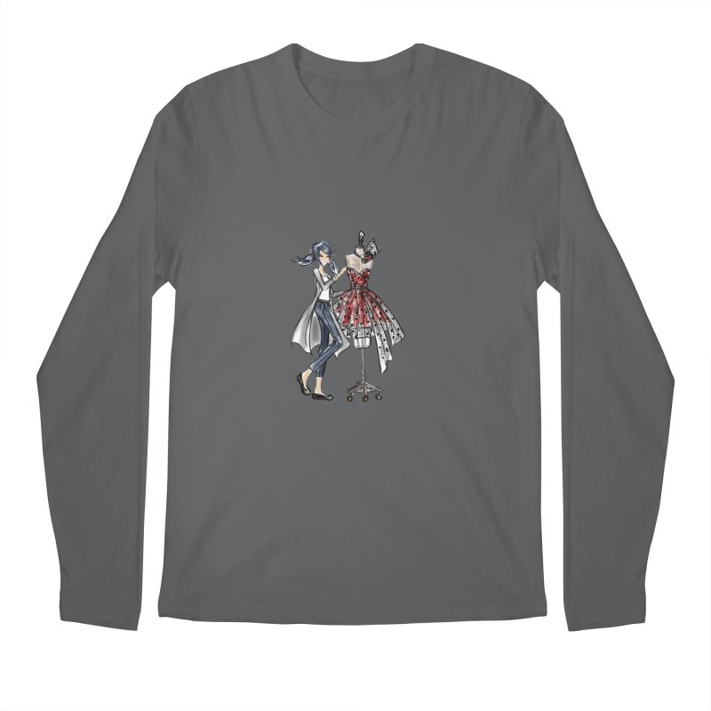 Ladybug Fashion Men's Longsleeve T-Shirt by Deanna Kei's Artist Shop