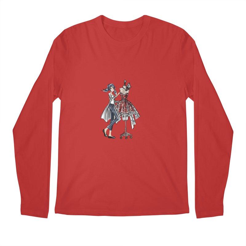 Ladybug Fashion Men's Regular Longsleeve T-Shirt by deannakei's Artist Shop