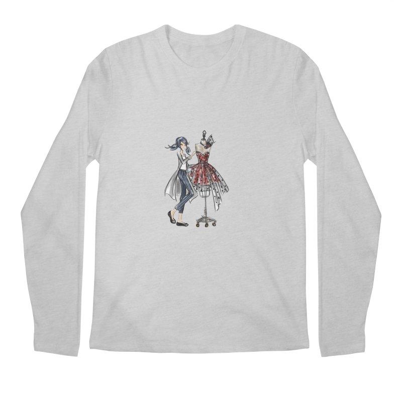 Ladybug Fashion Men's Regular Longsleeve T-Shirt by Deanna Kei's Artist Shop