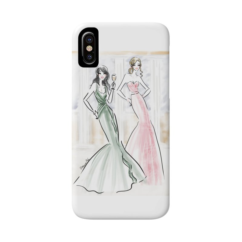 Champage ladies Accessories Phone Case by deannakei's Artist Shop