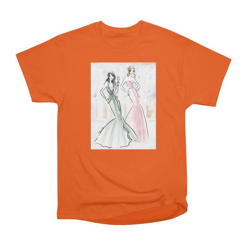 Champage ladies Men's Heavyweight T-Shirt by deannakei's Artist Shop