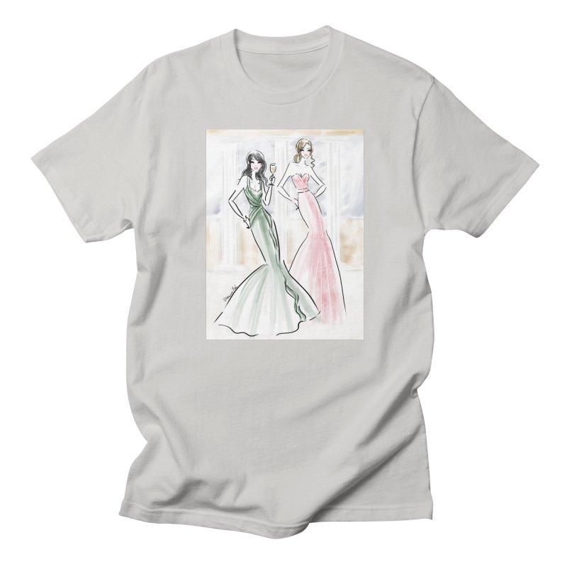 Champage ladies Men's Regular T-Shirt by deannakei's Artist Shop