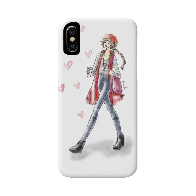Valentines Date Accessories Phone Case by deannakei's Artist Shop