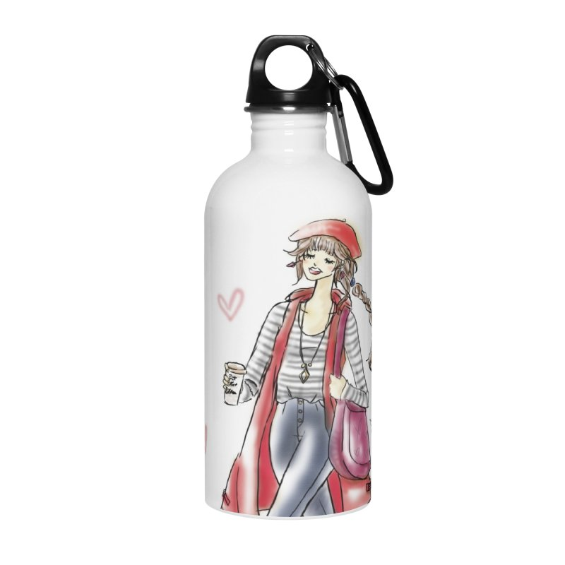 Valentines Date Accessories Water Bottle by deannakei's Artist Shop