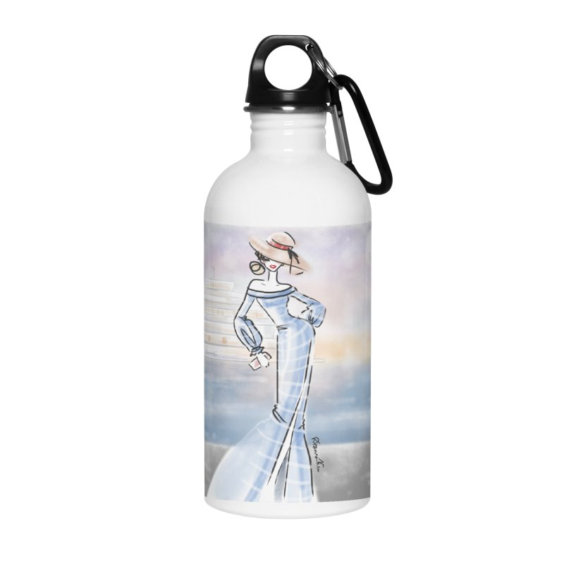 Cruise Lady Accessories Water Bottle by deannakei's Artist Shop