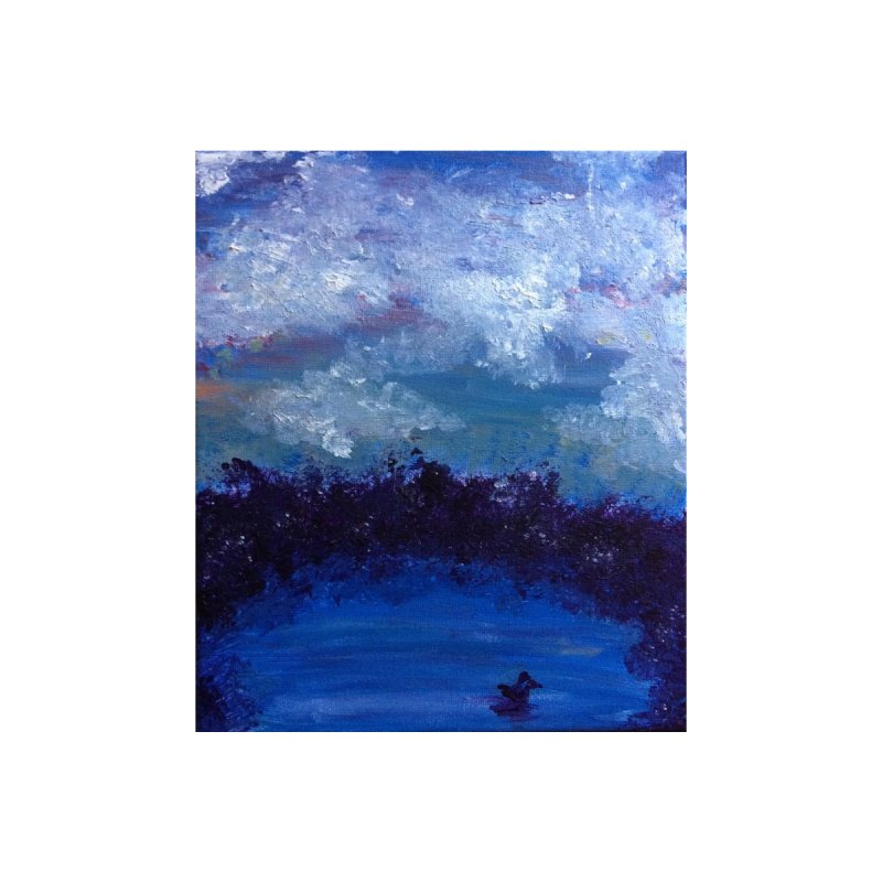 Midnight Lake by deannakei's Artist Shop