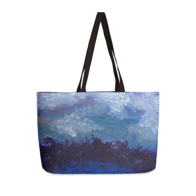 Midnight Lake Accessories Weekender Bag Bag by deannakei's Artist Shop