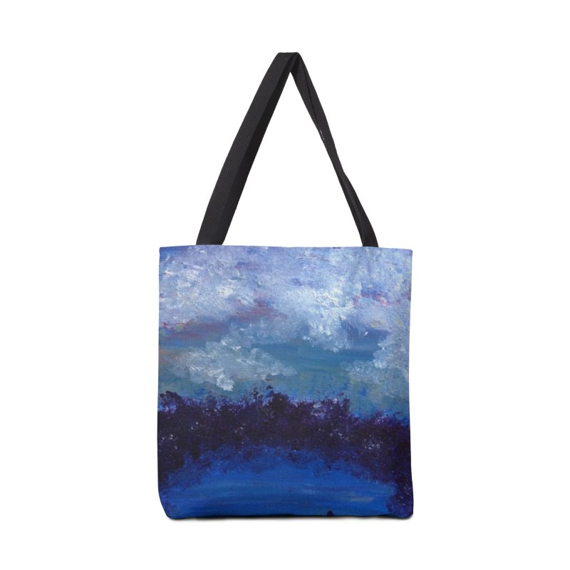 Midnight Lake Accessories Tote Bag Bag by deannakei's Artist Shop