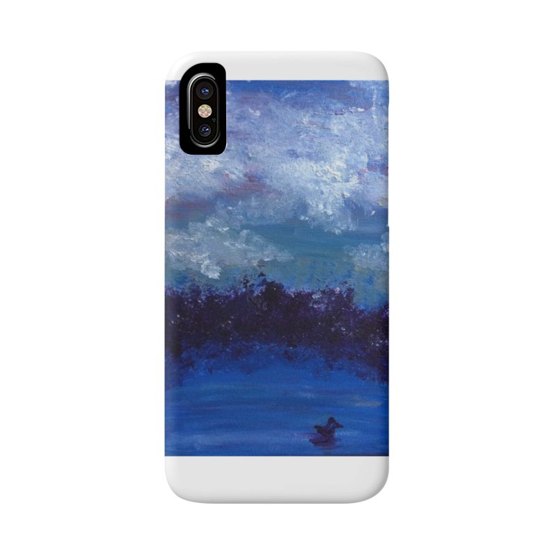 Midnight Lake Accessories Phone Case by deannakei's Artist Shop