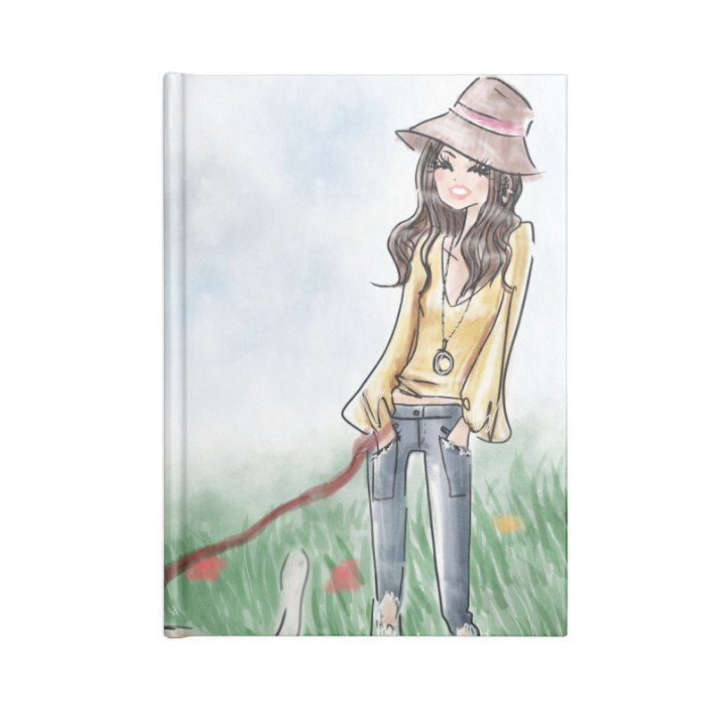 A walk in the Park Accessories Lined Journal Notebook by Deanna Kei's Artist Shop
