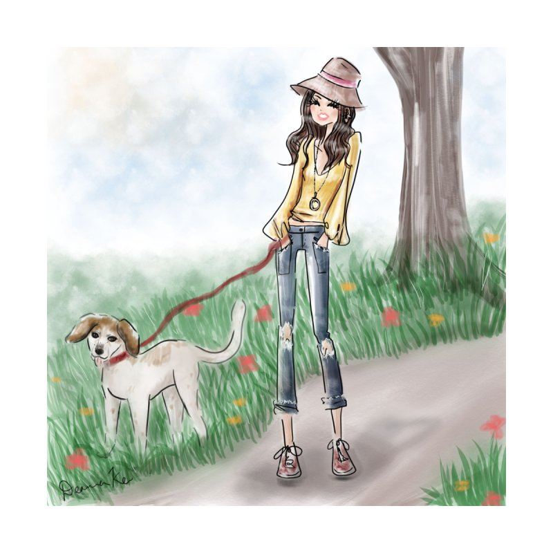 A walk in the Park Accessories Sticker by deannakei's Artist Shop