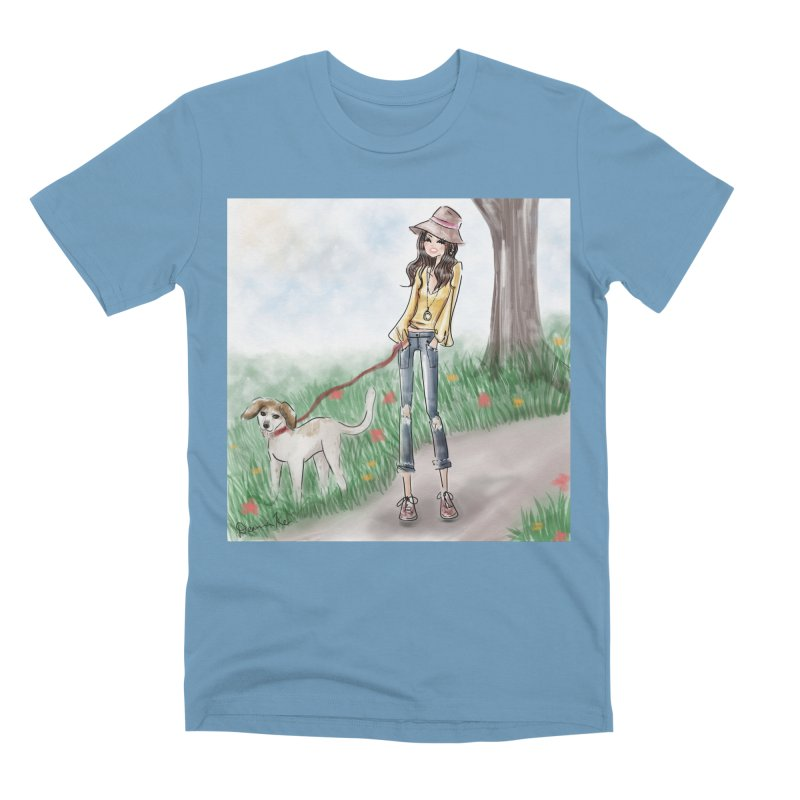 A walk in the Park Men's Premium T-Shirt by deannakei's Artist Shop