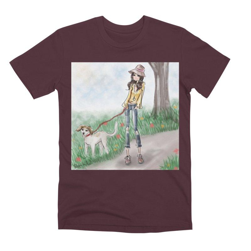 A walk in the Park Men's Premium T-Shirt by deannakei's Artist Shop