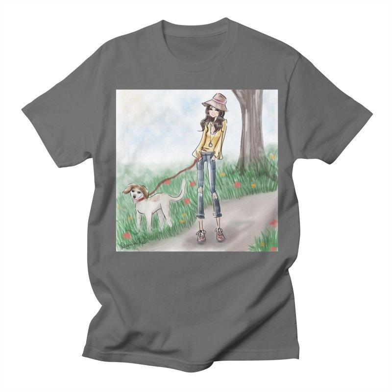 A walk in the Park Men's T-Shirt by deannakei's Artist Shop