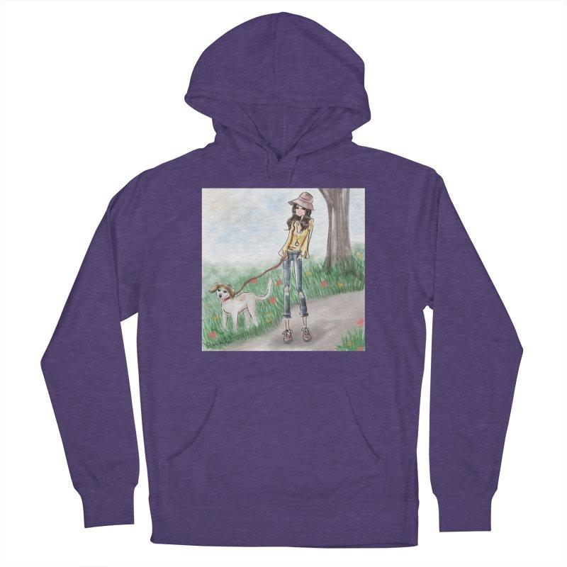 A walk in the Park Women's Pullover Hoody by Deanna Kei's Artist Shop