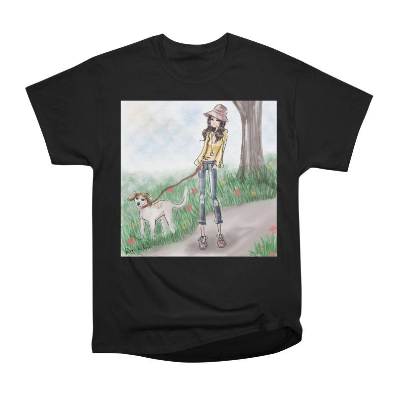 A walk in the Park Women's Heavyweight Unisex T-Shirt by deannakei's Artist Shop