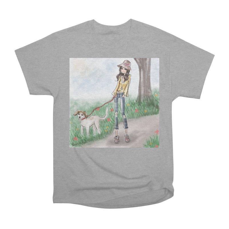 A walk in the Park Men's Heavyweight T-Shirt by deannakei's Artist Shop