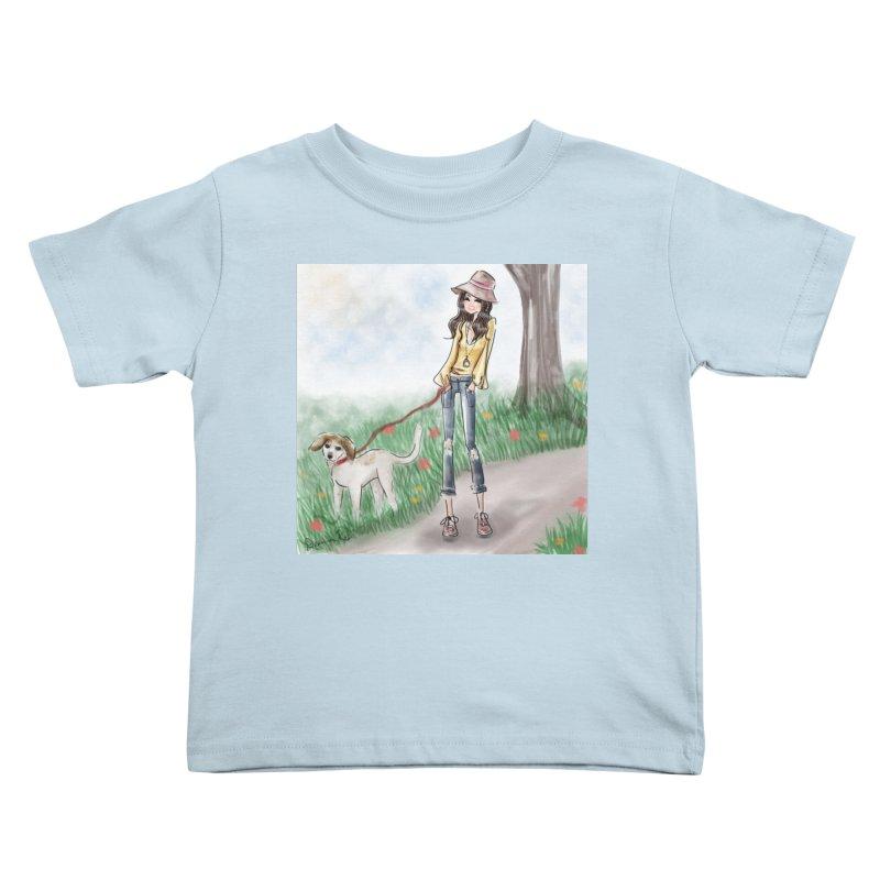 A walk in the Park Kids Toddler T-Shirt by deannakei's Artist Shop