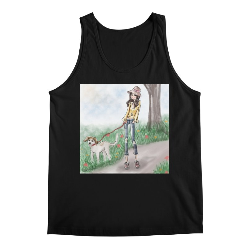 A walk in the Park Men's Regular Tank by Deanna Kei's Artist Shop