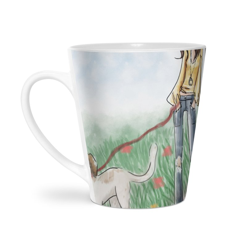 A walk in the Park Accessories Latte Mug by deannakei's Artist Shop