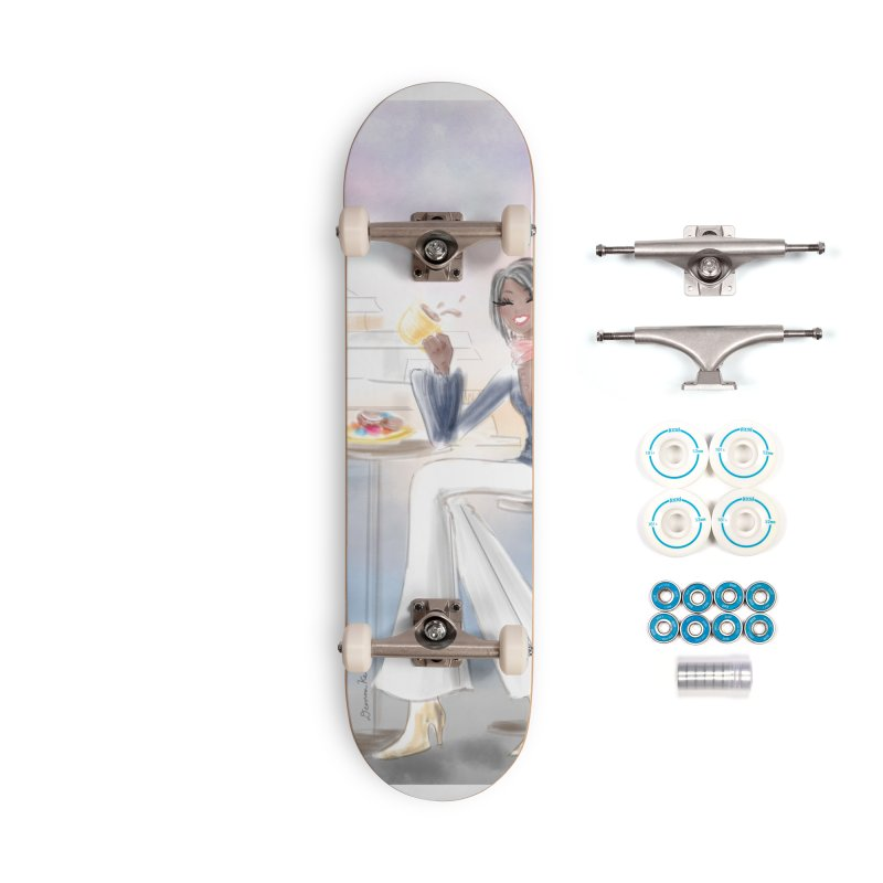 Cafe by the Sea Accessories Complete - Basic Skateboard by deannakei's Artist Shop
