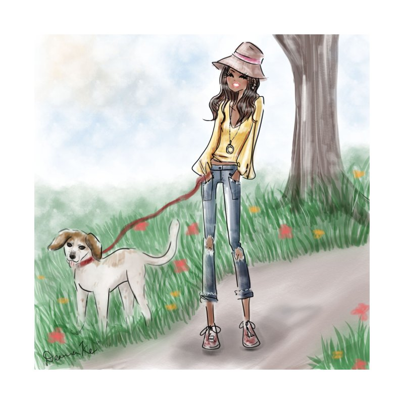 A walk in the Park Accessories Notebook by Deanna Kei's Artist Shop