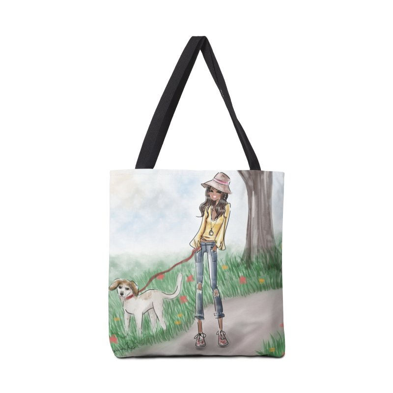 A walk in the Park in Tote Bag by Deanna Kei's Artist Shop