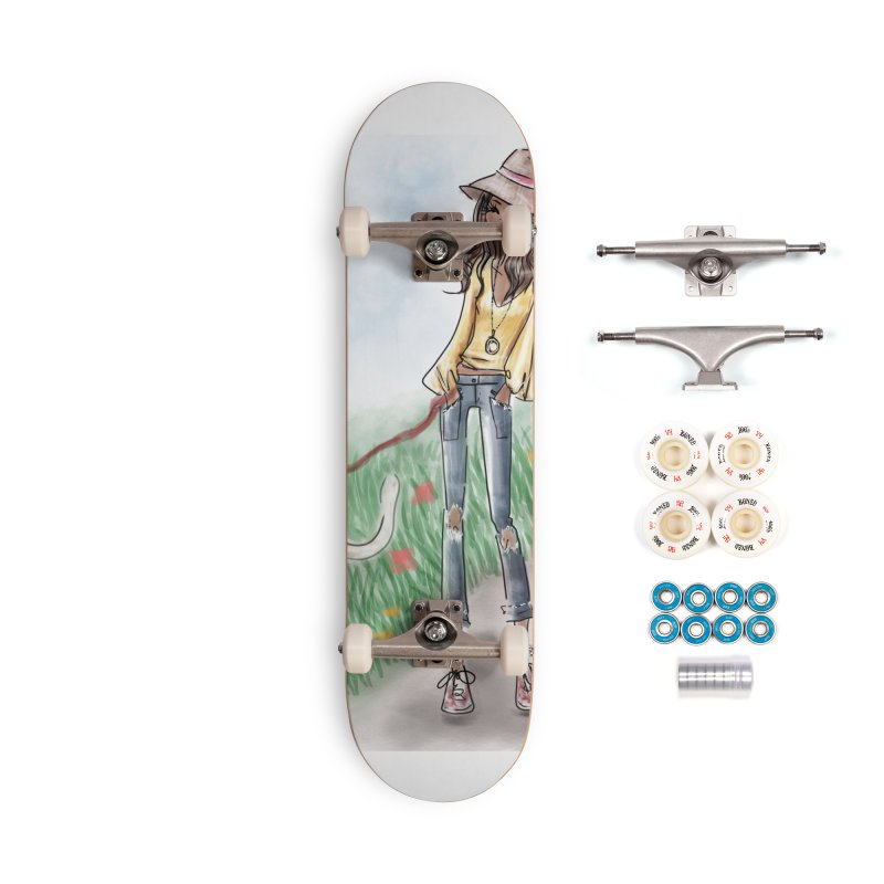 A walk in the Park Accessories Complete - Premium Skateboard by deannakei's Artist Shop