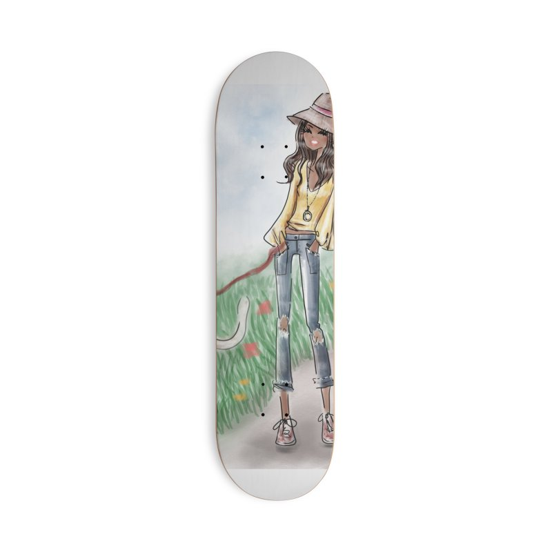 A walk in the Park Accessories Deck Only Skateboard by deannakei's Artist Shop