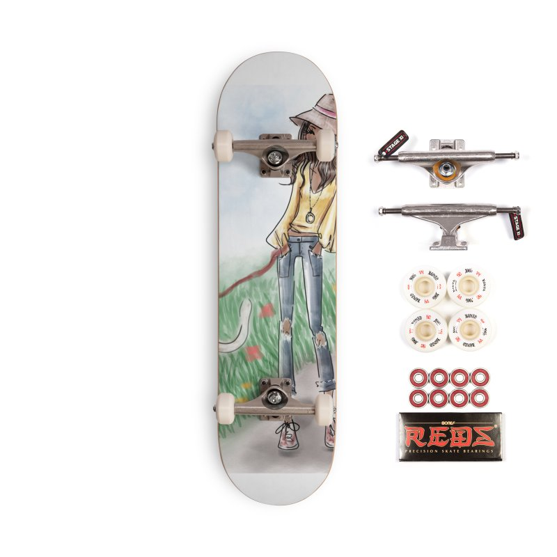 A walk in the Park Accessories Complete - Pro Skateboard by deannakei's Artist Shop