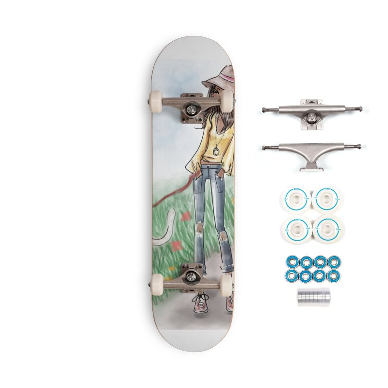 A walk in the Park Accessories Complete - Basic Skateboard by deannakei's Artist Shop