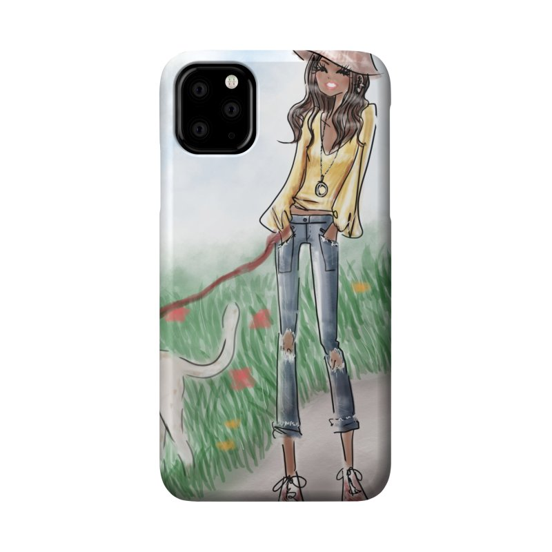 A walk in the Park Accessories Phone Case by Deanna Kei's Artist Shop