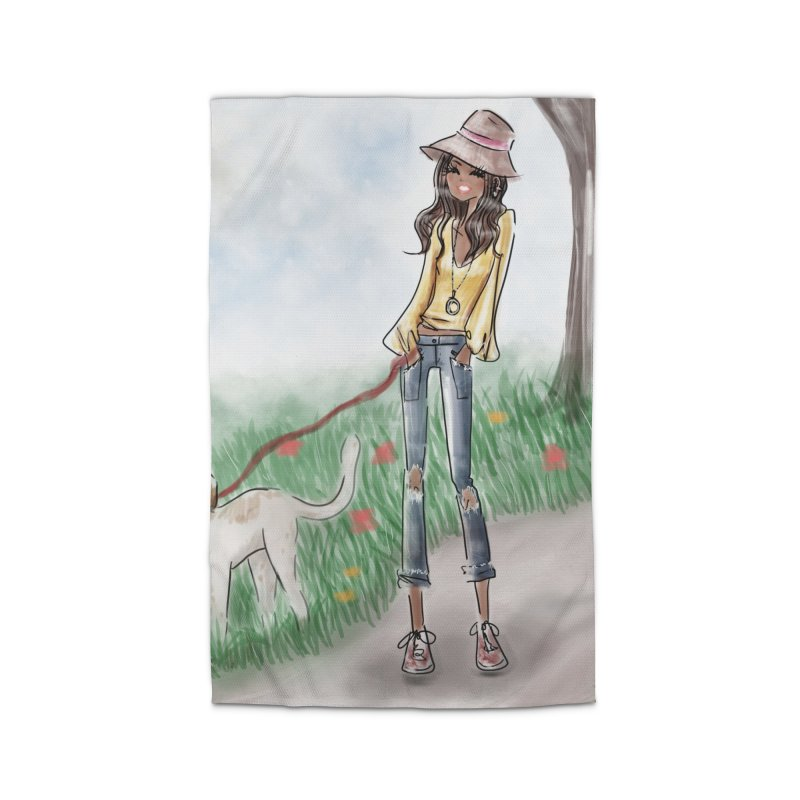 A walk in the Park Home Rug by deannakei's Artist Shop