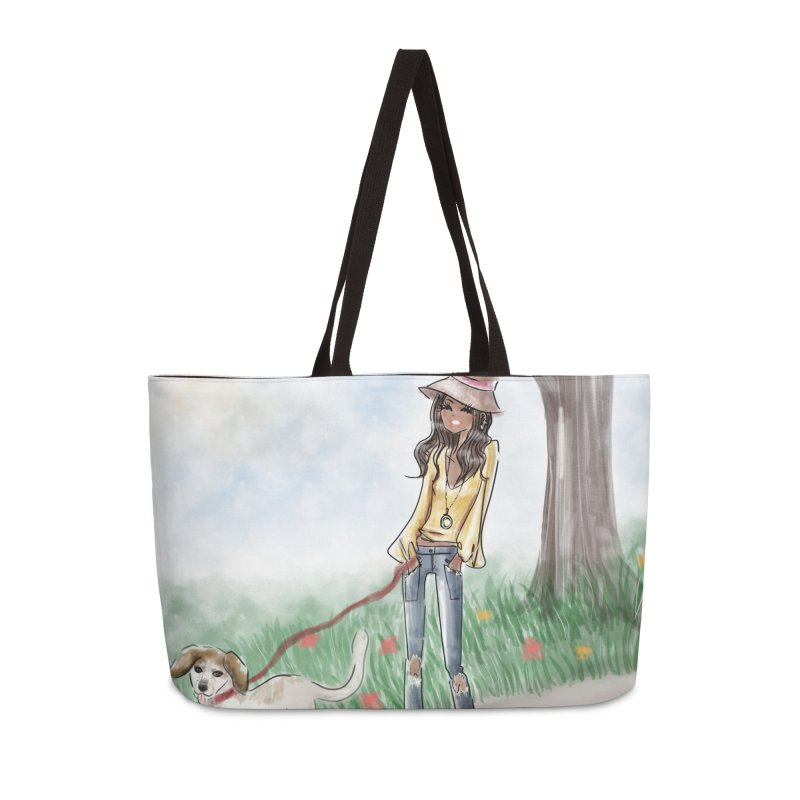 A walk in the Park Accessories Weekender Bag Bag by deannakei's Artist Shop