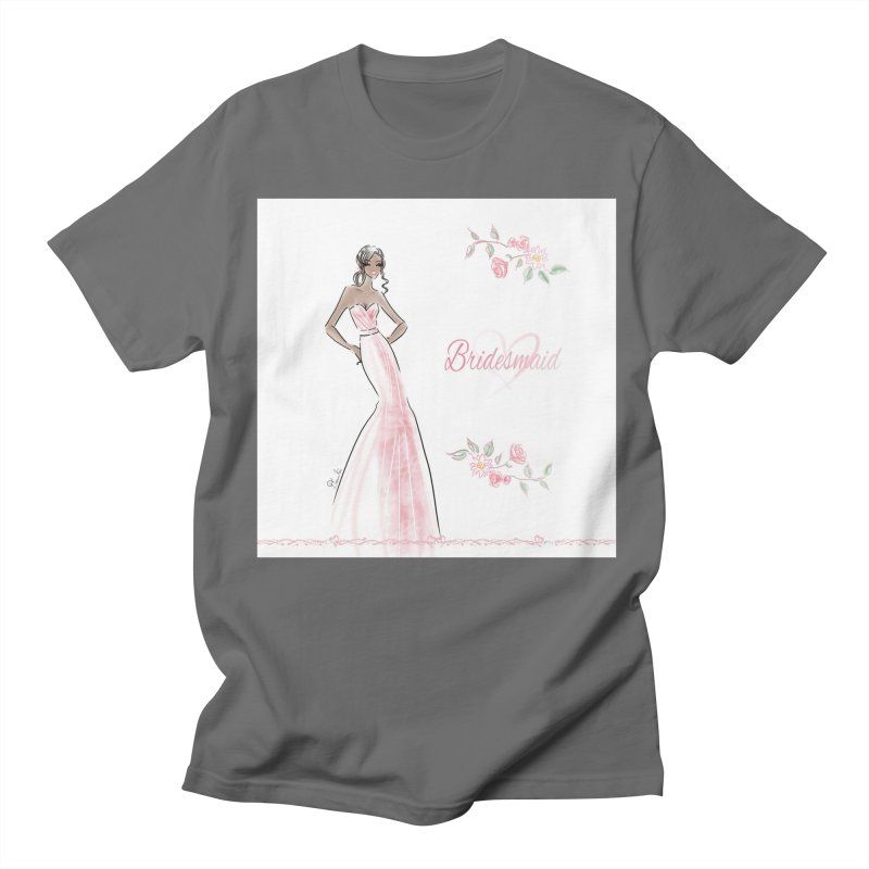 Bridesmaid - Pink Dress - 1 Women's T-Shirt by deannakei's Artist Shop