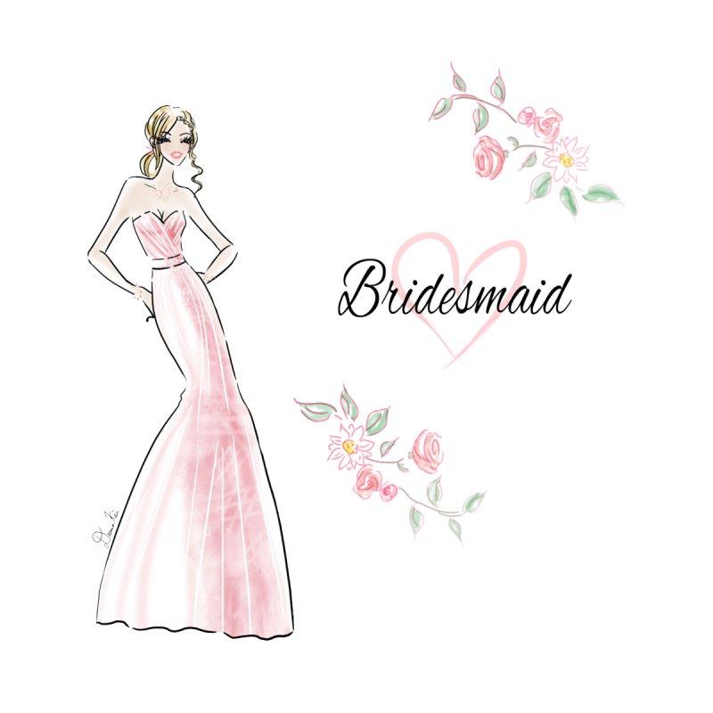 Bridesmaid - Pink Women's Tank by Deanna Kei's Artist Shop