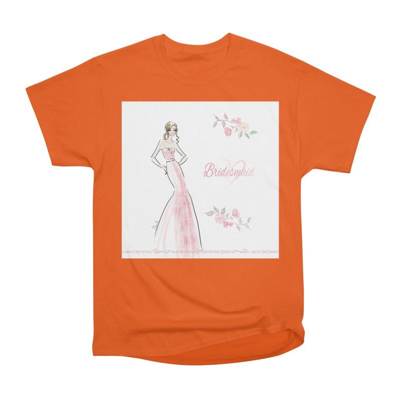 Bridesmaid - Pink - 2 Women's T-Shirt by Deanna Kei's Artist Shop