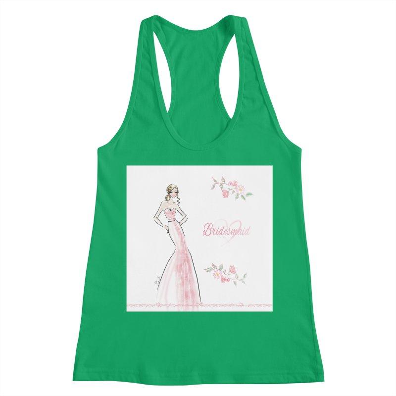 Bridesmaid - Pink - 2 Women's Tank by Deanna Kei's Artist Shop