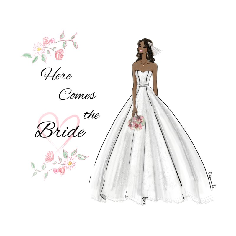 Here Comes the Bride Women's Tank by Deanna Kei's Artist Shop