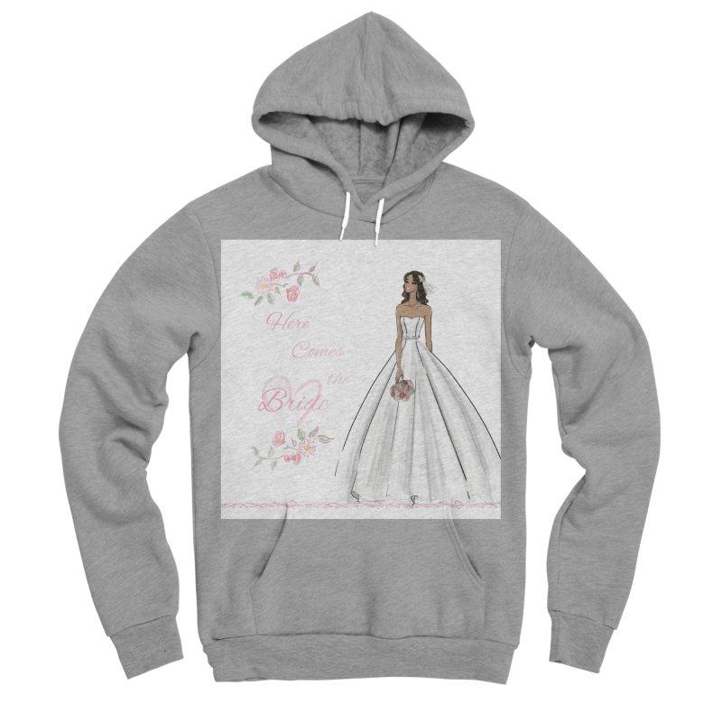 Here Comes the Bride - dark Women's Sponge Fleece Pullover Hoody by deannakei's Artist Shop