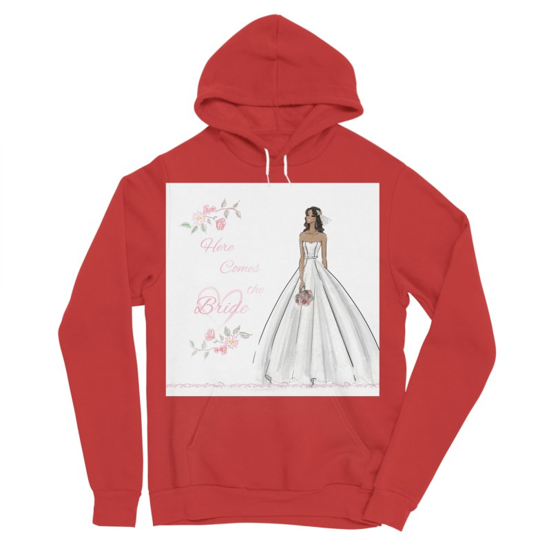 Here Comes the Bride - dark Women's Pullover Hoody by Deanna Kei's Artist Shop