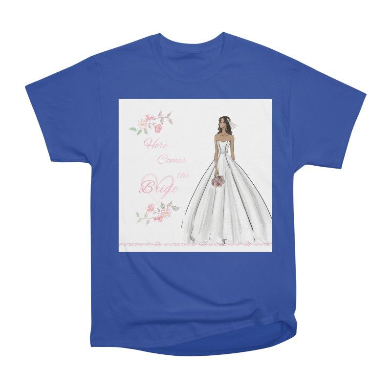 Here Comes the Bride - dark Women's Heavyweight Unisex T-Shirt by deannakei's Artist Shop