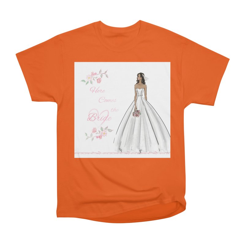 Here Comes the Bride - dark Women's T-Shirt by Deanna Kei's Artist Shop