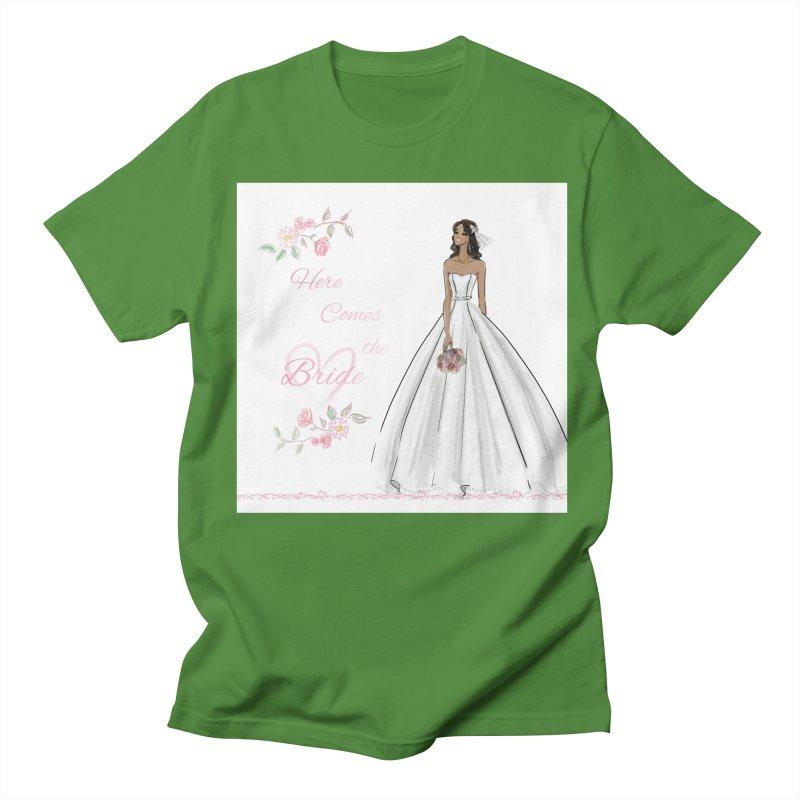 Here Comes the Bride - dark Women's Regular Unisex T-Shirt by Deanna Kei's Artist Shop