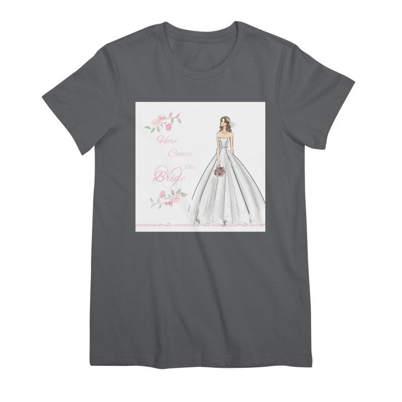Here Comes The Bride- Light Women's T-Shirt by Deanna Kei's Artist Shop
