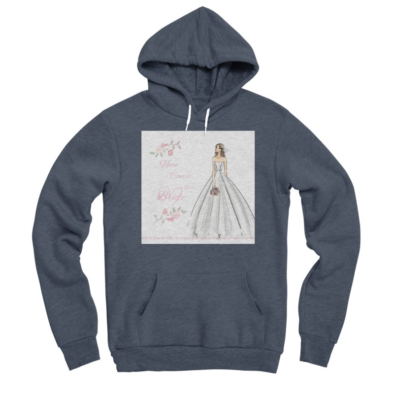 Here Comes The Bride- Light Women's Sponge Fleece Pullover Hoody by Deanna Kei's Artist Shop