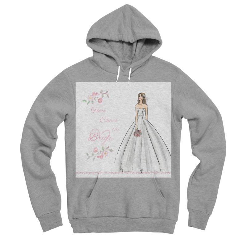 Here Comes The Bride- Light Women's Sponge Fleece Pullover Hoody by deannakei's Artist Shop